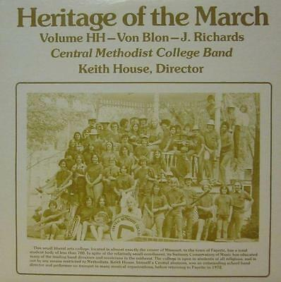 Central Methodist College Band(Vinyl LP)Heritage Of The March: Volume H-Ex/NM