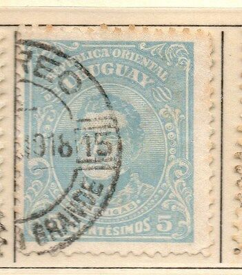 Uruguay 1912-15 Early Issue Fine Used 5c. 170348