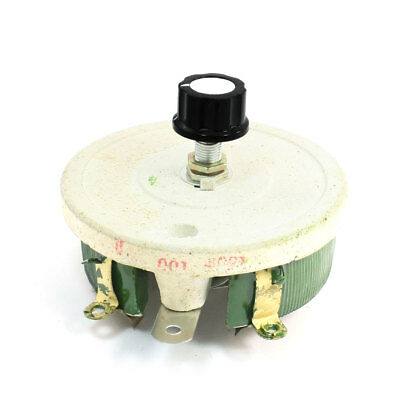 Adjustable Ceramic Potentiometer Rheostat Taper Resistor 150W 100 Ohm