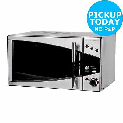 DeLonghi P80D20EL-T5A/H 800W Standard Microwave 20L Stainless Steel - From Argos