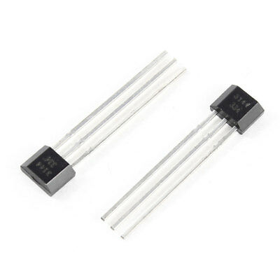 2 Pcs 3144 Unipolar Hall Effect Switches for High Temperature