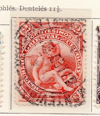 Uruguay 1904-05 Early Issue Fine Used 2c. 170300