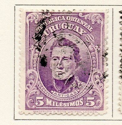 Uruguay 1910 Early Issue Fine Used 5c. 170324