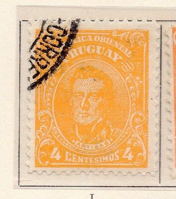 Uruguay 1912-15 Early Issue Fine Used 4c. 170344