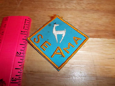 Seama New Mexico embroidered Patch, unique patch!