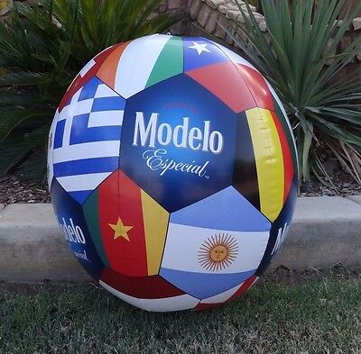 """Modelo Especial Soccer Ball Inflatable 25"""" x 21"""" Beach Pool or Sporting Event"""
