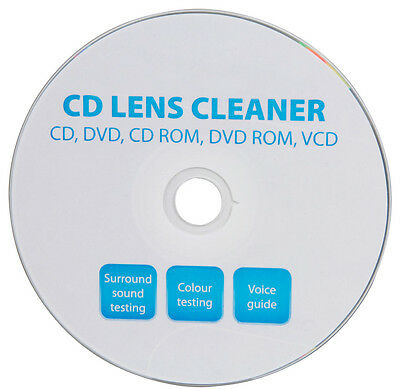 Universal CD DVD Player PC VCD Car Stereo Laser Lens Cleaner Cleaning System