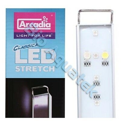 Arcadia LED Stretch Aquarium Fish Tank Light Freshwater CS40F 15w 40cm - 55cm