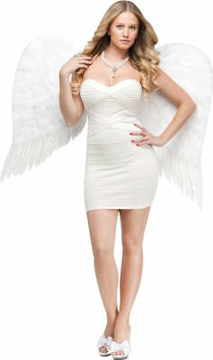 Morris Costumes Women's Angel Feather White Wings. FW8970WT
