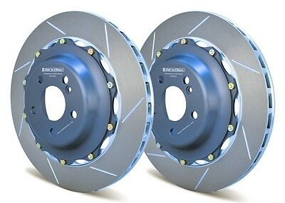Giro Disc 2-Piece 360Mm Rear Rotors For Mercedes E63 Amg Better Than Oem