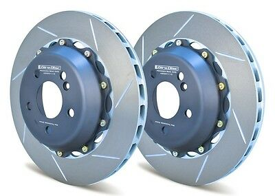 Giro Disc 2-Piece 330Mm Rear Rotors For Mercedes C63 Amg Better Than Oem