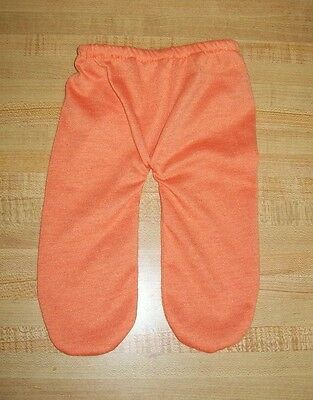 """DEEP ORANGE KNIT TIGHTS LEGGINGS STOCKINGS for 15-16/"""" CPK Cabbage Patch Kids"""