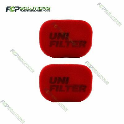 2 X UNI FILTER Safari, Airflow, Toyota Snorkel Ram Head Cover Precleaner Filter