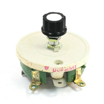 Wirewound Ceramic Potentiometer Variable Rheostat Resistor 100W 300 Ohm