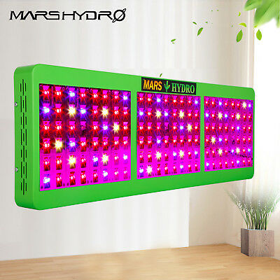 Marshydro Reflector 720W LED Grow Light Full Spectrum Switches Veg Flower IR