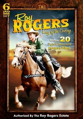NEW Roy Rogers - King of the Cowboys - 20 Feature Films and more on 6 DVD Set!