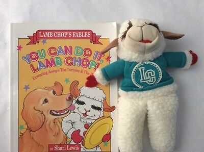 Classic You Can Do It, Lamb Chop! : Aesop's the Tortoise and the Hare W / Doll