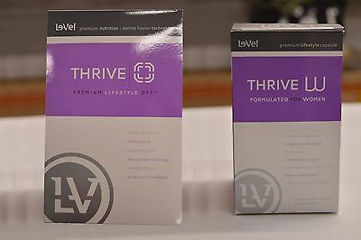 Le-Vel Thrive Women Vitamins and DFT Patches 30-Day Supply.