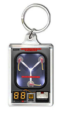 Back To The Future Delorean Flux Capacitor Keyring Llavero