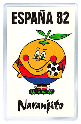 Naranjito 82 Spain Fridge Magnet Iman Nevera