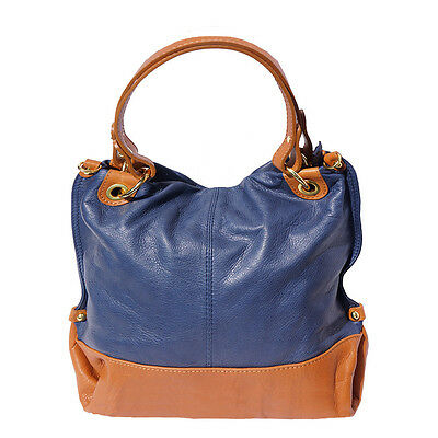 6039c6753b8a3 HANDBAG BAG ITALIAN Genuine Leather Hand made in Italy Florence 8005 ...