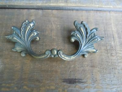 Vintage Brass Ornate DRAWER PULL