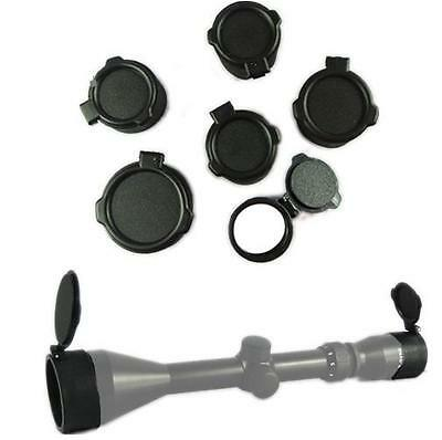 1pc Objective or Eyes Scope Lens Caps Cover Dustproof Flip Up Spring Open Covers