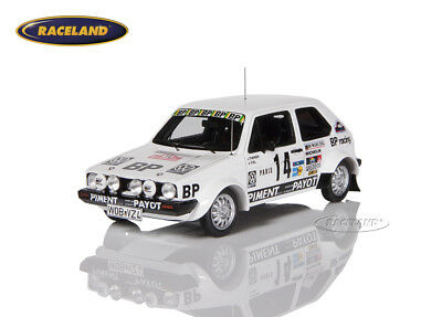 VW Golf GTI BP Racing Rallye Monte Carlo 1980 Thérier/Vial, Spark Model 1:43 NEW