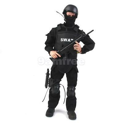 """12"""" 1/6 Military Army Combat SWAT Soldier Action Figure with Accessory Toy"""