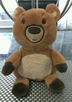 Babies R Us Bear Baby Infant Plush Brown Carmal 2013 Flat Nose Replacement Teddy