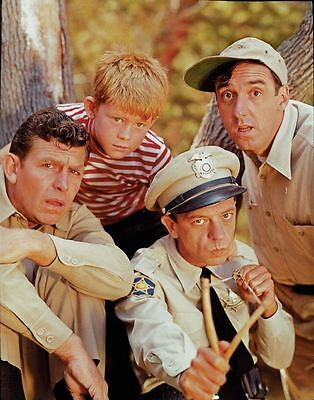 The Andy Griffith Show 1960's Cast Tv 8X10 Glossy Photo Photograph