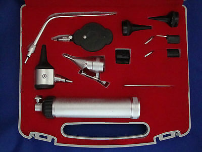 """MAK ENT Diagnostic Otoscope & Ophthalmoscope Set Fine Quality """"FAST SHIPPING"""""""