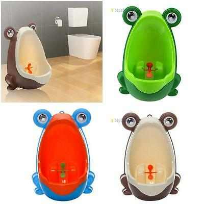 Lovely Frog Boy Baby Children Potty Urinal Pee Toilet Training Trainer Urine TS