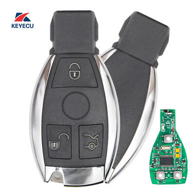 New Keyless ENtry Remote Key Fob 433MHz With NEC Chip for Mercedes-Benz 2000+