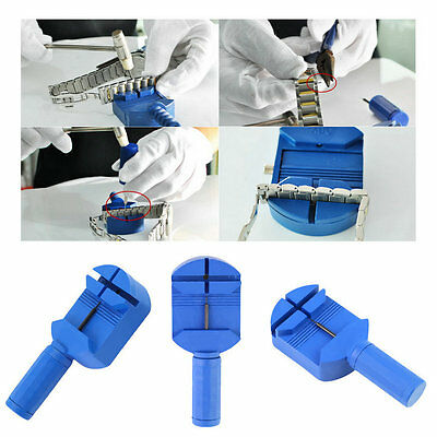 Watch Band Link Pin Remover Strap Adjuster Opener Repair Watchmaker Tool FE