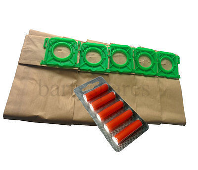 5 Vacuum Cleaner  Dust Bags & Air Fresh for Sebo X1 X4 X4 extra Vacuum cleaner