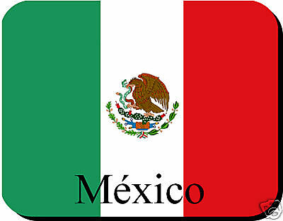 Mexican Flag Mousemat Mexico  + Free Personalisation