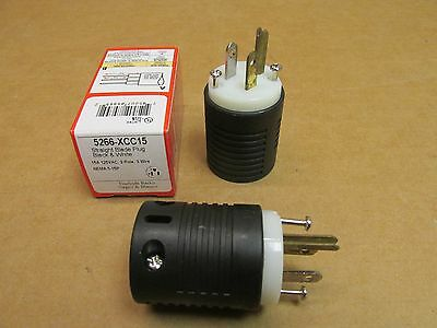 New Extension Cord Plug End Heavy Duty Pass Seymour Quality 15 A 125 V St Blade