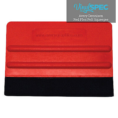 "4"" Avery Red Squeegee"