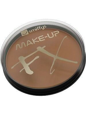 Fancy Dress Make Up Water Based Face Paint 16ml Light Brown by Smiffys FX