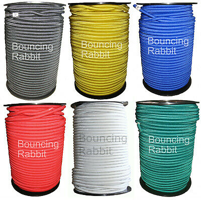 8mm Elastic Shock Cord, Bungee Rope, Tie Down: You choose colour and length
