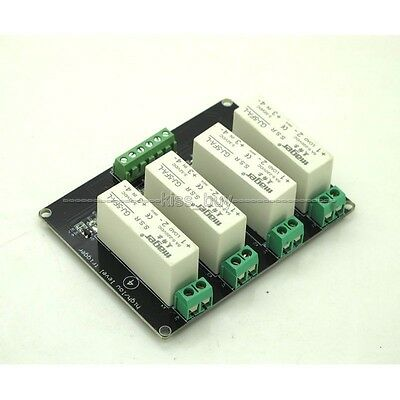 4 Channel SSR Solid State Relay high-low trigger 5A 5v12v For Arduino uno R3