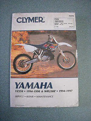 yamaha tz125 complete workshop repair manual 1995 1997