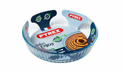 Pyrex Fluted Flan Dish 26Cm Food Cookware Bakeware Serveware Kitchen Home New