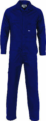 Lightweight Cool-Breeze Cotton Drill Coverall Work Wear- DNC 3104