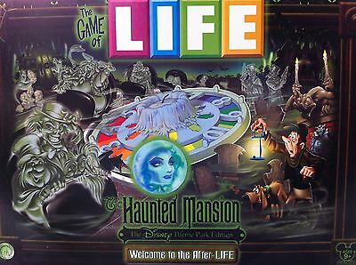 FREE SHIPPING! The HAUNTED MANSION Game Of Life *DISNEY THEME PARK EDITION world