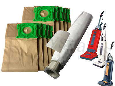 Service Kit For Sebo Vacuum Cleaner 10 Dust hoover Bags Filters x1 x4 extra x5