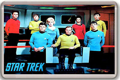 Star Trek Fridge Magnet Iman Nevera