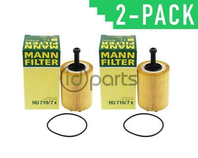 TDI Oil Filter 071115562C HU719/7x for BRM CBEA CJAA ** 2 PACK **