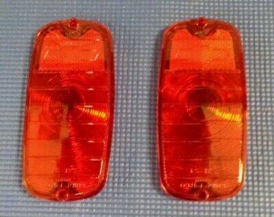 1960-1966 Chevrolet Gmc Pick-Up G10 Van Rear Tail Light Lens Set With Bow-Tie